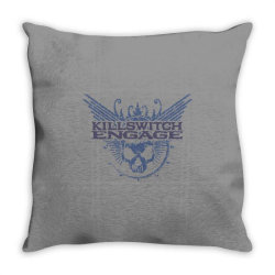 Kill switch engage, skull Throw Pillow | Artistshot