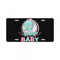 Dragon baby License Plate | Artistshot