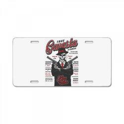 True gangsta stories, skull License Plate | Artistshot