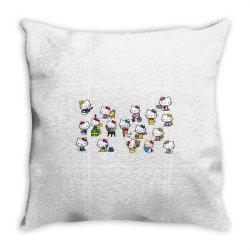 Cat, animal, kitty Throw Pillow | Artistshot
