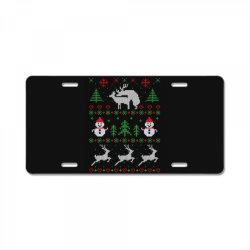 humping deers christmas License Plate   Artistshot