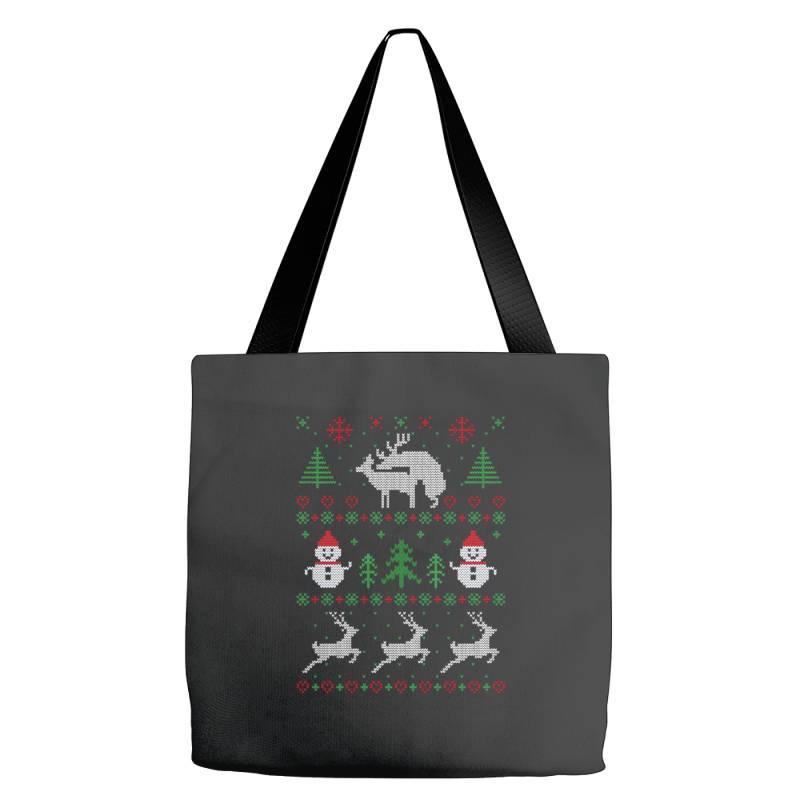 Humping Deers Christmas Tote Bags   Artistshot