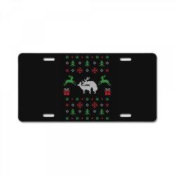 humping deers christmas 1 License Plate | Artistshot
