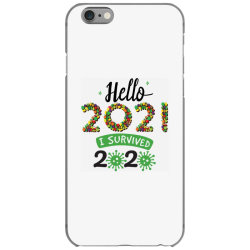 hello 2021 survived 2020 iPhone 6/6s Case | Artistshot