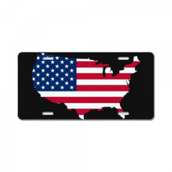 United States of America, USA, American flag License Plate | Artistshot
