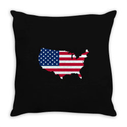 United States of America, USA, American flag Throw Pillow | Artistshot