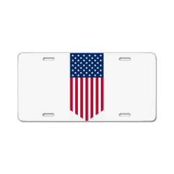 United States of America, USA, American flag License Plate   Artistshot