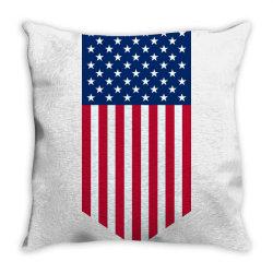 United States of America, USA, American flag Throw Pillow   Artistshot