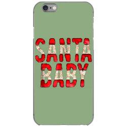santa baby red foil iPhone 6/6s Case | Artistshot