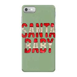 santa baby red foil iPhone 7 Case | Artistshot