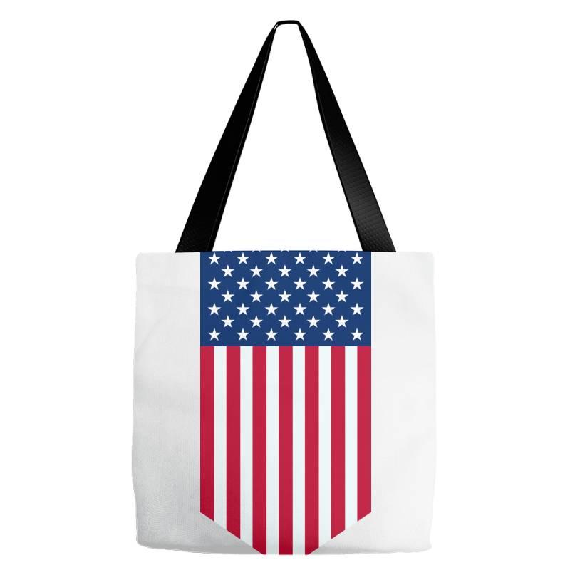 United States Of America, Usa, American Flag Tote Bags   Artistshot