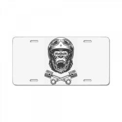 Gorilla monkey License Plate | Artistshot