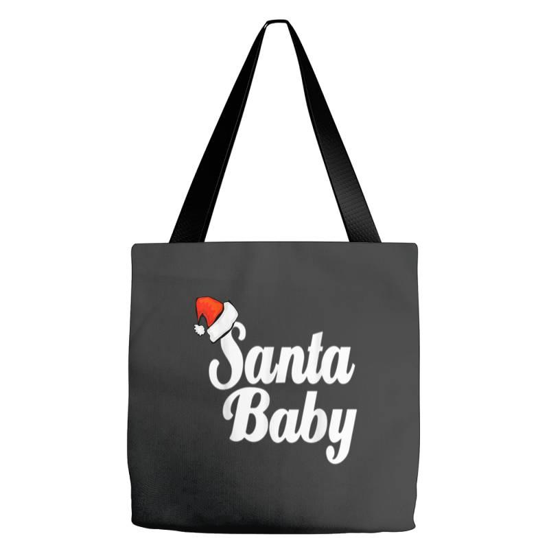 Santa Baby Tote Bags | Artistshot
