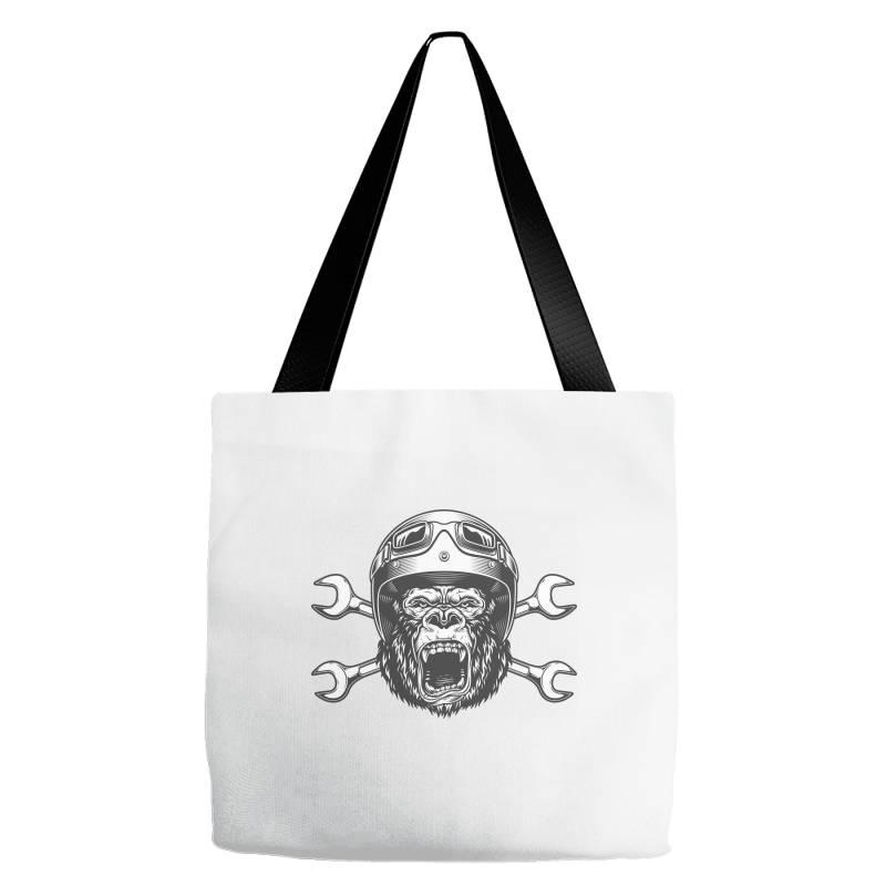 Gorilla Monkey Tote Bags | Artistshot