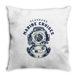 Seabrand, Marine Cruises Throw Pillow | Artistshot