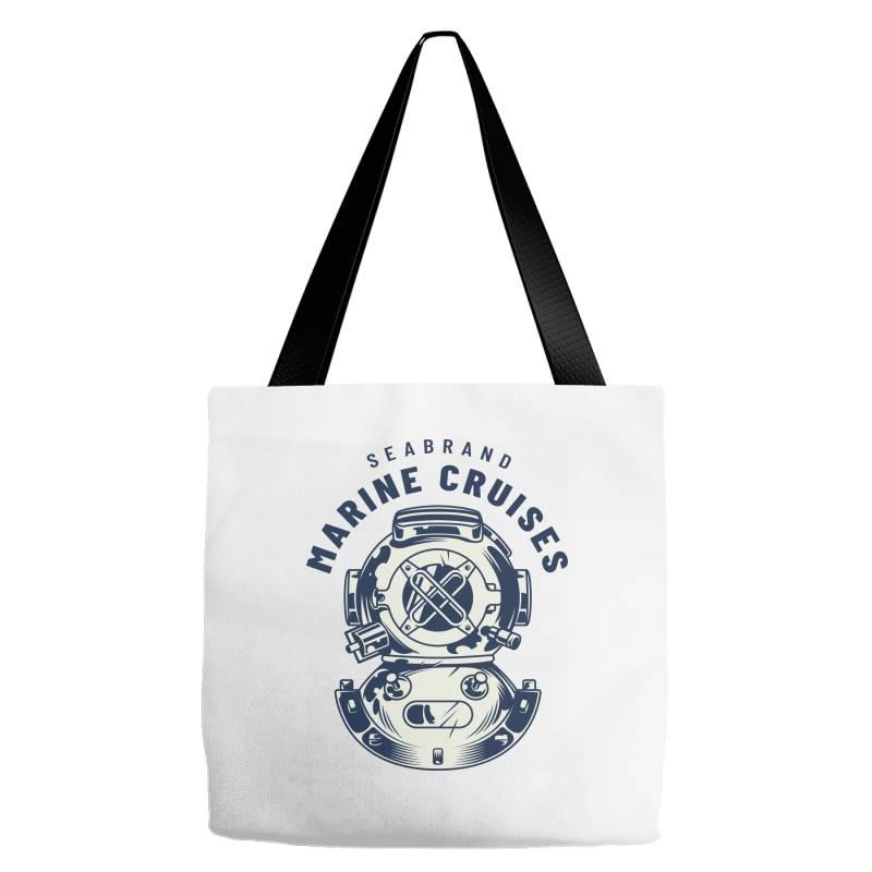 Seabrand, Marine Cruises Tote Bags | Artistshot