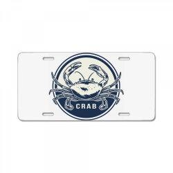 Crab, seafood License Plate   Artistshot