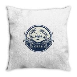Crab, seafood Throw Pillow   Artistshot