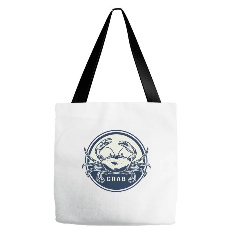 Crab, Seafood Tote Bags   Artistshot