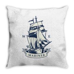 Marine cruises Throw Pillow | Artistshot