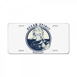 Ocean spirit, natural License Plate | Artistshot