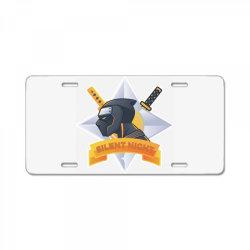 Silent night, ninja License Plate | Artistshot