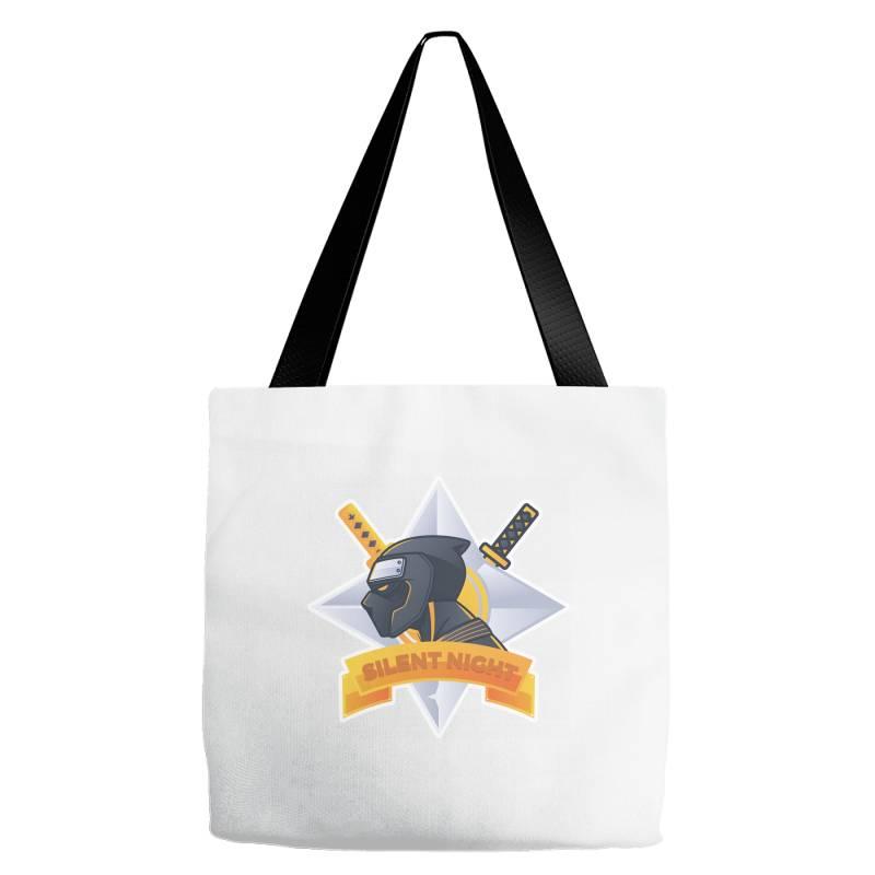 Silent Night, Ninja Tote Bags | Artistshot