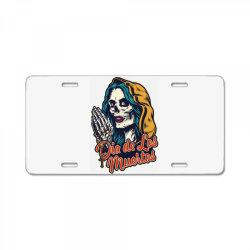 Dia de los muertos, skull License Plate | Artistshot