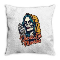 Dia de los muertos, skull Throw Pillow | Artistshot