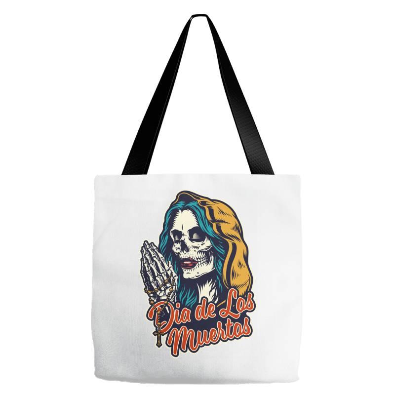 Dia De Los Muertos, Skull Tote Bags | Artistshot