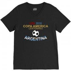 Copa America Centenario 2016 ARGENTINA V-Neck Tee | Artistshot