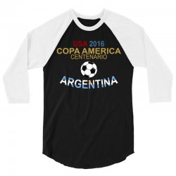Copa America Centenario 2016 ARGENTINA 3/4 Sleeve Shirt | Artistshot