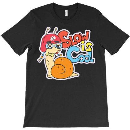 Snail T-shirt Designed By Wiraart