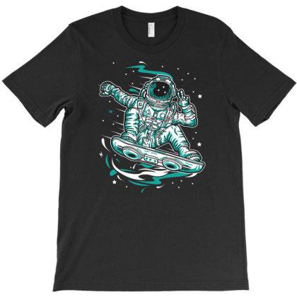 Space Traveller T-shirt Designed By Wiraart
