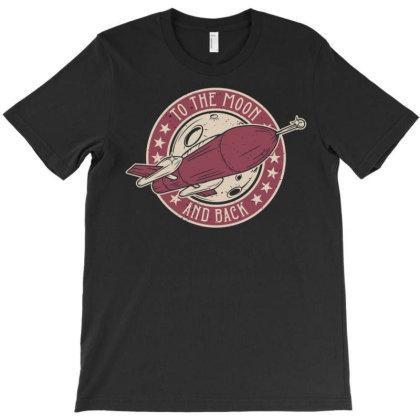 Spaceship 2 T-shirt Designed By Wiraart
