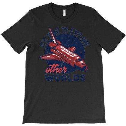 Spaceship T-shirt Designed By Wiraart