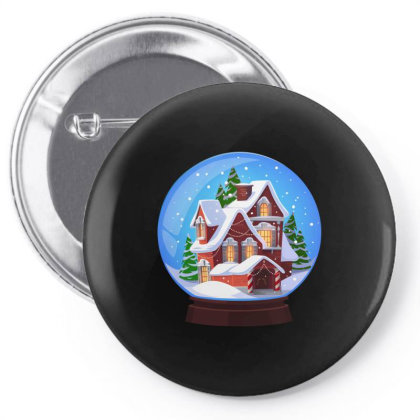 Easter, Christmas, Noel, Happy New,2021, Bulldog, Animal, Snow Globe Pin-back Button Designed By Gladiator_67