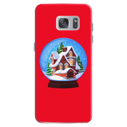 Easter, Christmas, Noel, Happy New,2021, Bulldog, Animal, Snow Globe Samsung Galaxy S7 Case Designed By Gladiator_67