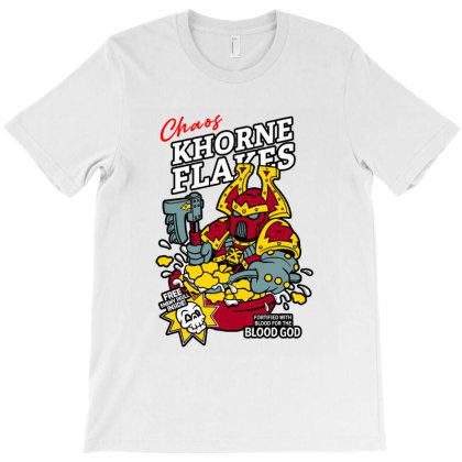 Chapos Khorne Flakes  T Shirt T-shirt Designed By Coolstars
