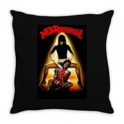 nekromantik 2 horror Throw Pillow | Artistshot