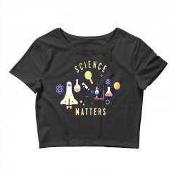 neil degrasse tyson science matters Crop Top | Artistshot
