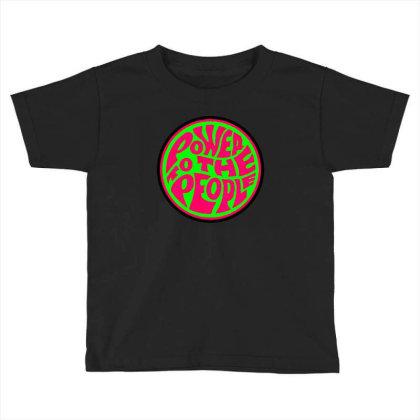 Black Power Toddler T-shirt Designed By Zig Street