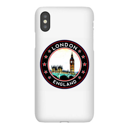 London England Iphonex Case Designed By Zig Street
