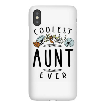 Womens Coolest Aunt Ever - Auntie Gift Iphonex Case Designed By Cidolopez