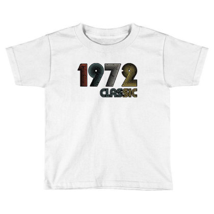 Classic 1972 Toddler T-shirt Designed By Zig Street
