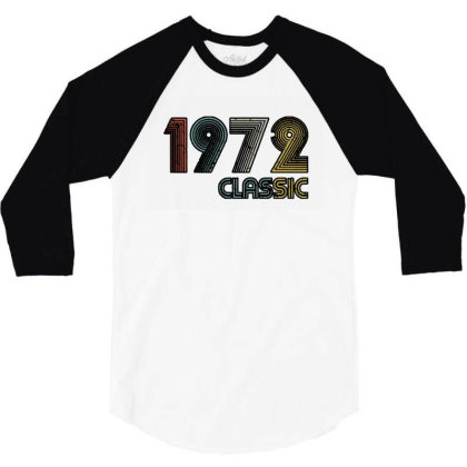 Classic 1972 3/4 Sleeve Shirt Designed By Zig Street