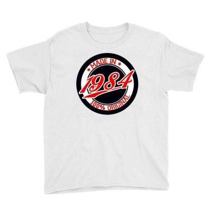 Made In 1980 Youth Tee Designed By Zig Street