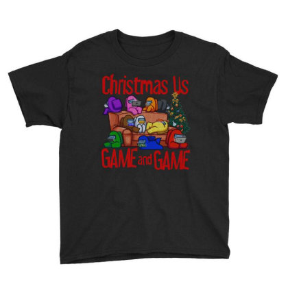 Christmas Us Youth Tee Designed By Uptosign