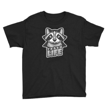 Trash Life Youth Tee Designed By Exbones