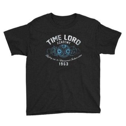 Time Lord Academy Youth Tee Designed By Exbones